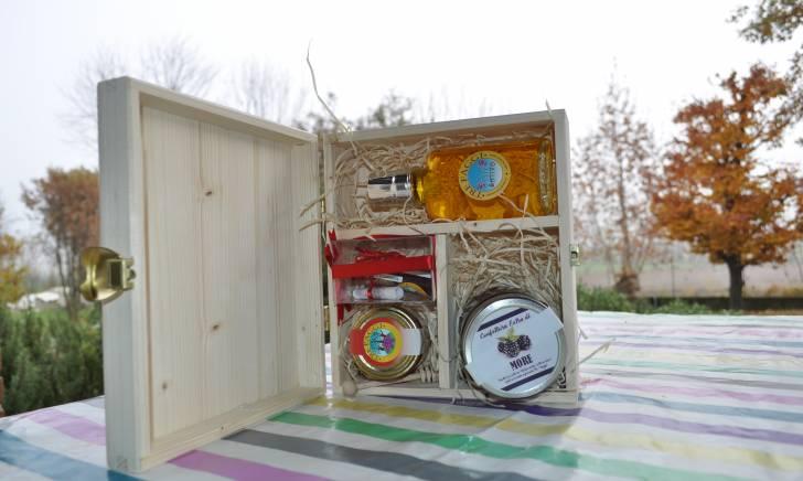 Confezione regalo media in legno – Elena